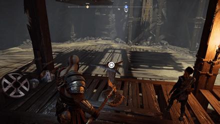 GoW - Deus Ex Malachite Favor Switch on Raised Platform