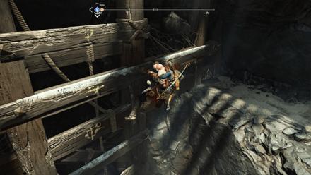 GoW - Deus Ex Malachite Favor Ledge Leading to Coffin