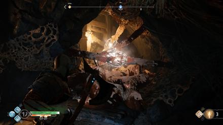 GoW - Deus Ex Malachite Favor Destroy the Roots