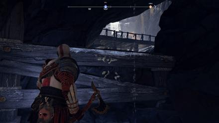 GoW - Deus Ex Malachite Favor Ledge Next Area