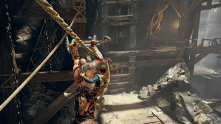 GoW - Deus Ex Malachite Favor Zip Line