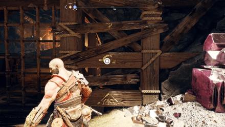 GoW - Deus Ex Malachite Favor Ledge to Boost Atreus