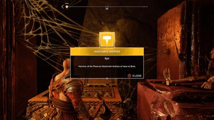 GoW - Deus Ex Malachite Favor Andvari