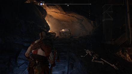 GoW - Deus Ex Malachite Favor Minecart