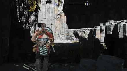 GoW - Forgotten Caverns Cave Ledge