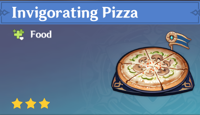 How to Get Invigorating Pizza and Effects