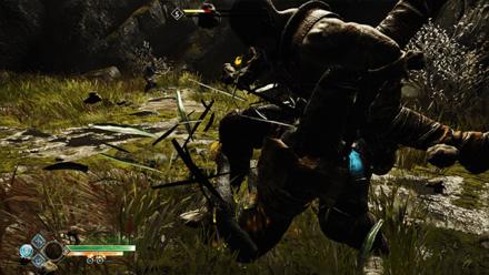 GoW - The Flight of Fafnir Defeat the Reavers