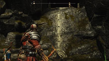 GoW - The Flight of Fafnir Second Dragon Shrine Wall