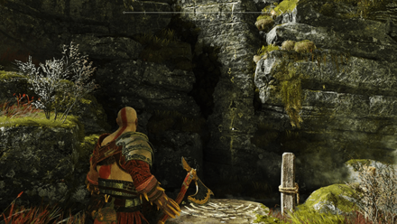 GoW - The Flight of Fafnir Wall on Right
