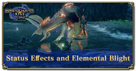 Status Effects and Elemental Blight