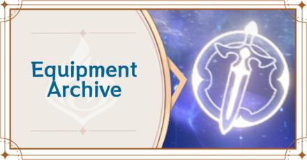 Genshin - Equipment Archive