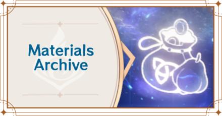 Genshin - Materials Archive