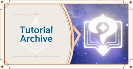 Genshin - Tutorial Archive