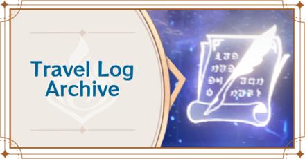 Genshin - Travel Log Archive