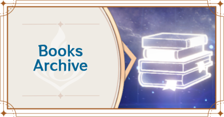 Genshin - Books Archive