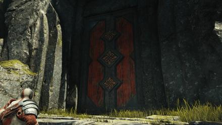 GoW - Vanaheim Tower Door