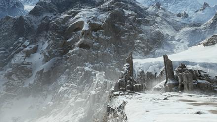 GoW - The Mountain Entrance