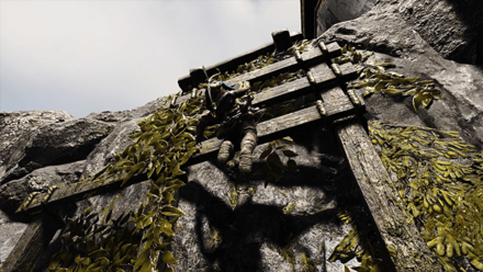GoW - Lookout Tower Scaffolding Wall