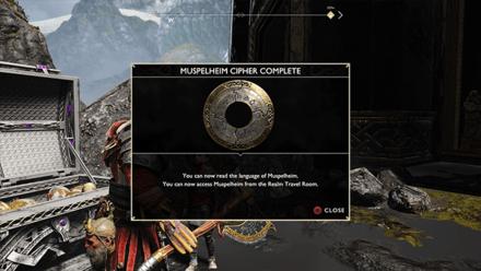 GoW -  Completed Muspelheim Ciphers