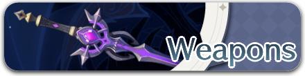 Genshin - List of Weapons