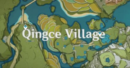Genshin - Red Items - Qingce Village