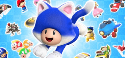 Cat Tour Featured Character - Cat Toad - Mario Kart Tour.png