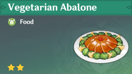 How to Get Vegetarian Abalone<br> and Effects