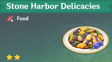 How to Get Stone Harbor Delicacies and Effects