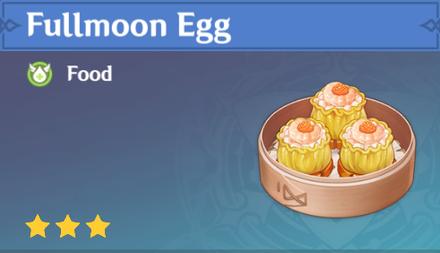 How to Get Fullmoon Egg<br> and Effects