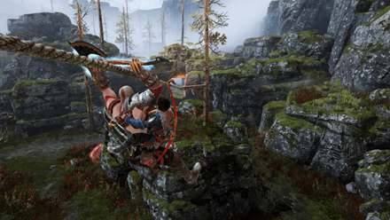 GoW - Hail to the King Zip Line
