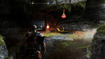 GoW - Hail to the King Tatzelwurm Cave