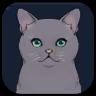 Genshin - Jade-Eyed Cat Image