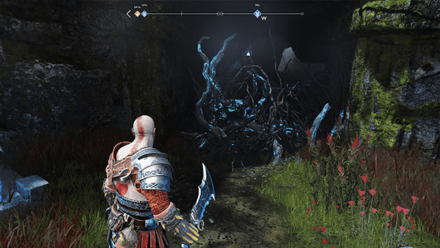 GoW - Hail to the King Hel Bramble Cave