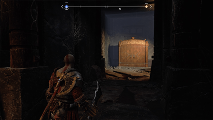GoW - Hail to the King Stronghold Lore Shrine