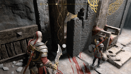 GoW - Hail to the King Stronghold Blood Trail