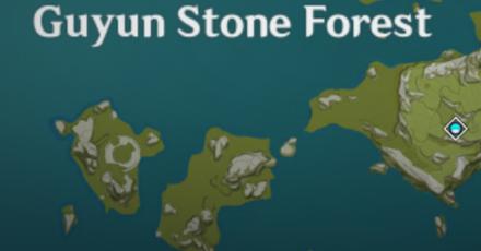 Genshin - Kurious Kamera - Guyun Stone Forest.png