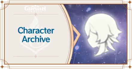 Genshin - Character Archive