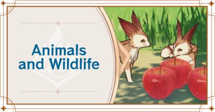 Genshin - Animals and Wildlife