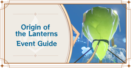 Genshin Impact - Origin of the Lanterns Story Quest