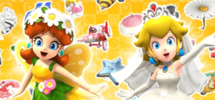 Peach Vs. Daisy Tour Featured Characters - Mario Kart Tour.png
