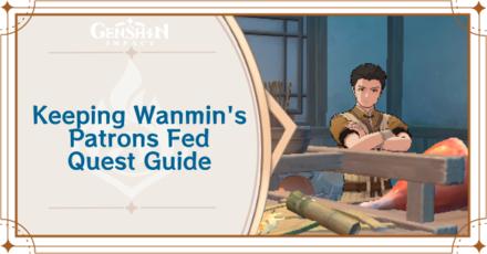 Genshin - Keeping Wanmin