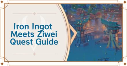 Genshin -Iron Ingot Meets Ziwei Banner