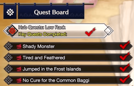Key Quests are Returning