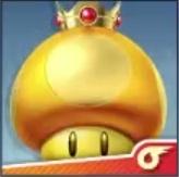 SSBU Golden Dash Mushroom