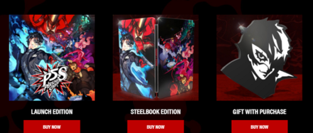 Persona 5 Strikers All Game Editions and Bonuses
