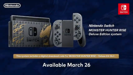 Nintendo Switch Deluxe Edition