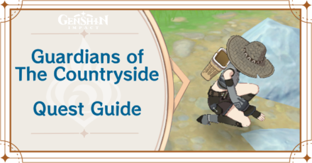 Genshin Impact - Guardians of the Countryside World Quest