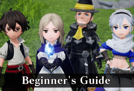 Bravely Default 2 Beginner