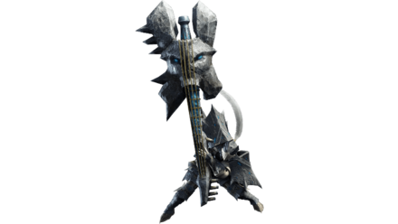 basarios male armor set and hunting horn.png