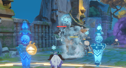 Genshin - Best Mechanicus - Cryo and Hydro Tower